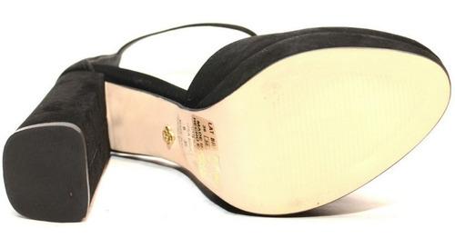sandalia mujer diseño con taco  - capodarte 4010024
