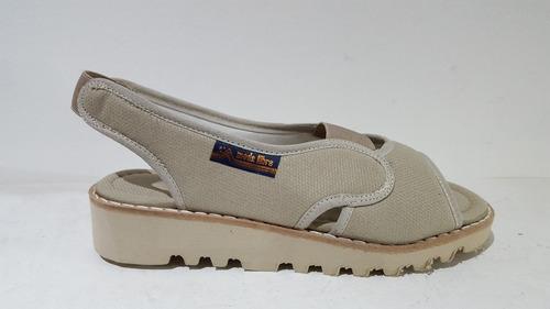 sandalia mujer elasticos goma eva ultralivianas (35 al 41)
