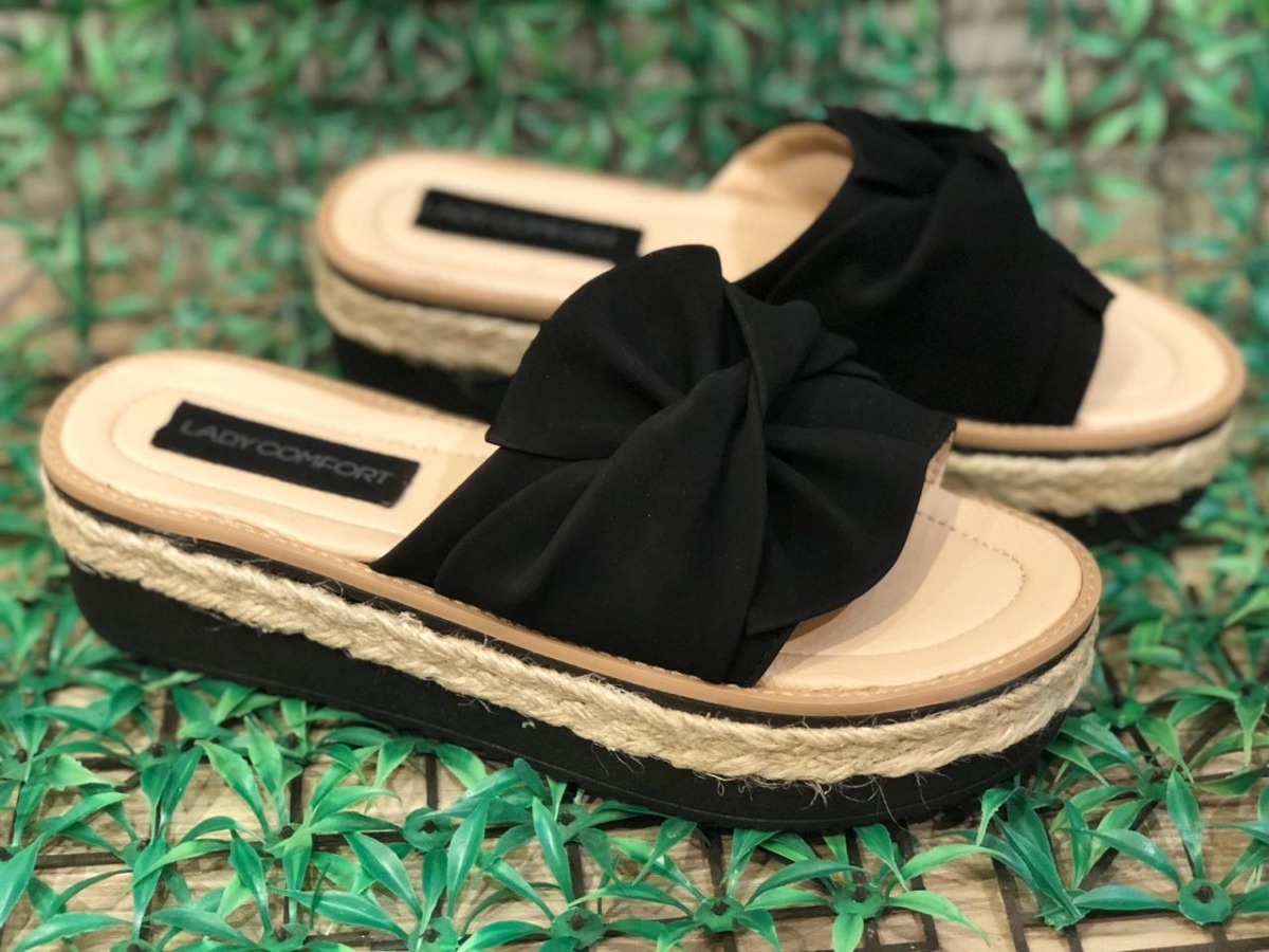 mejor sitio web a578c a2579 Sandalia Mujer Faja Moño Verano 2019 Lady Comfort 36 Al 40