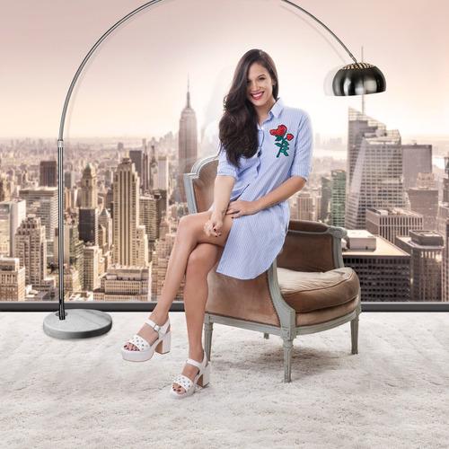 sandalia mujer plataforma 100%cuero art:501 calzados tallon