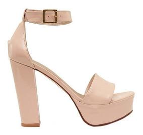 36 Rosa Mujer De Sandalias 12 Zapatos Taco Talle Claro rhstQd