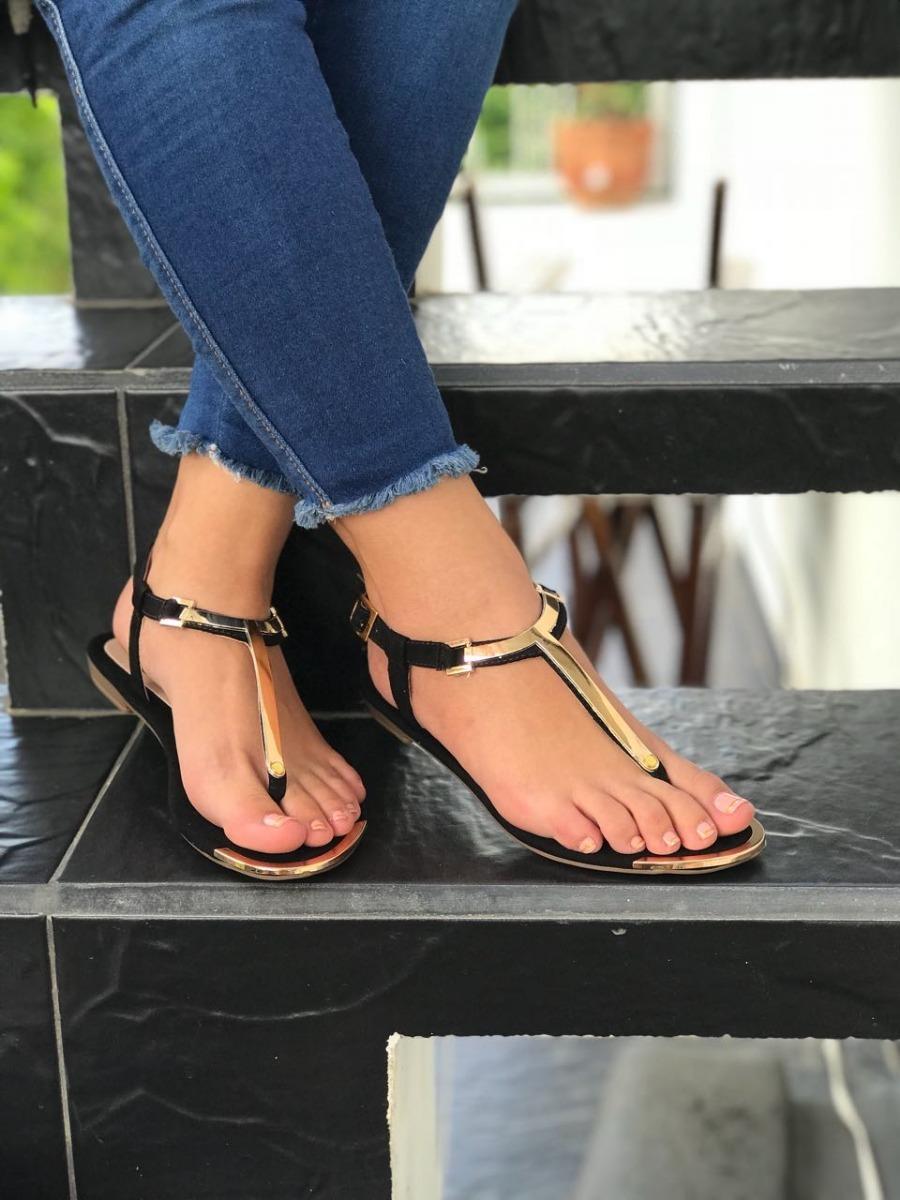 eb434a92c0e4 Sandalia Negra Diseños Laser Moda Dama Calzado De Moda Mujer