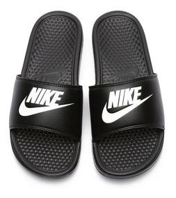 Nuevas En Negro Benassi Y Sandalia Jdi Caja Originales Nike n0XwOk8P