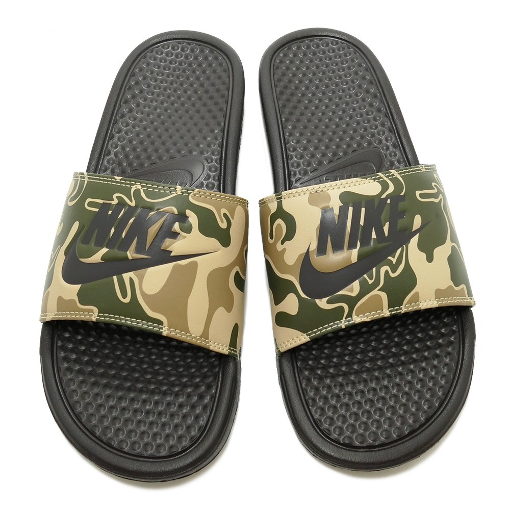 85d7ccd6ba Sandalia Nike Benassi Just Do It Print 631261-202 -   849.00 en ...