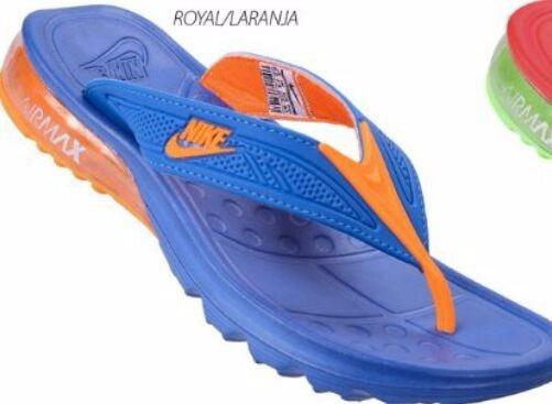10df0e11103 Sandália Nike Chinelo Air Max Gel Amortecedor Original - R  129