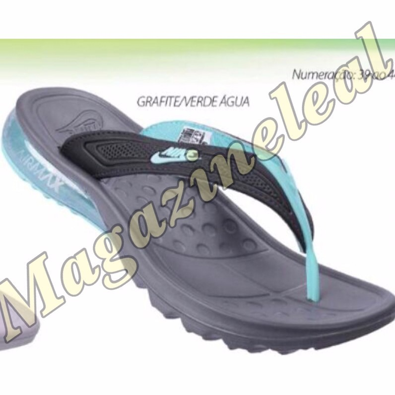 9870daf4c77 Sandalia Nike Gel Air Max Lançamento 2017 12x S juros Top - R  129 ...