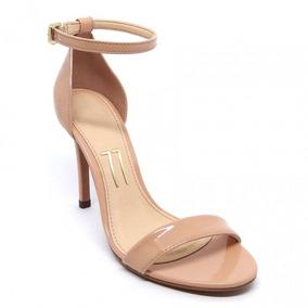 9042ecd06 Sandália De Festa Com Tiras Finas - Sapatos com o Melhores Preços no  Mercado Livre Brasil