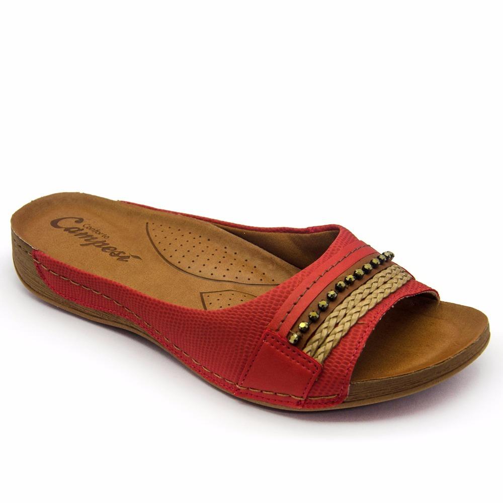 7f0d43a603 sandalia ortopédica feminina campesi l5481 tucca calçados. Carregando zoom.