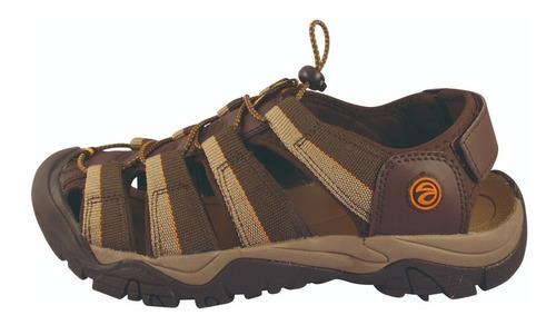 sandalia outdoor hombre brown 3ss4219 (39 al 44) lag