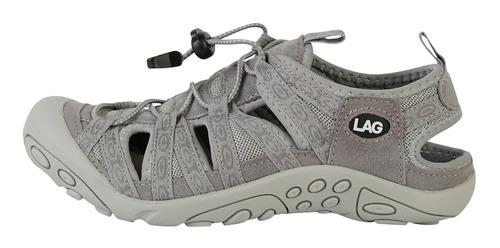 sandalia outdoor mujer gray 3ss0420 (35 al 40) lag