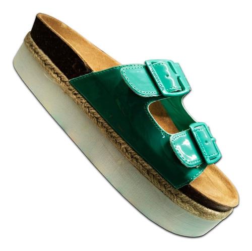 sandalia paddock zapatilla calzado ojota de dama mvd sport