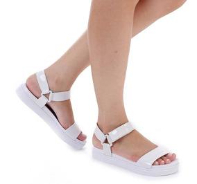 008a08884 Sandalia Flatform Azaleia - Calçados, Roupas e Bolsas com o Melhores ...