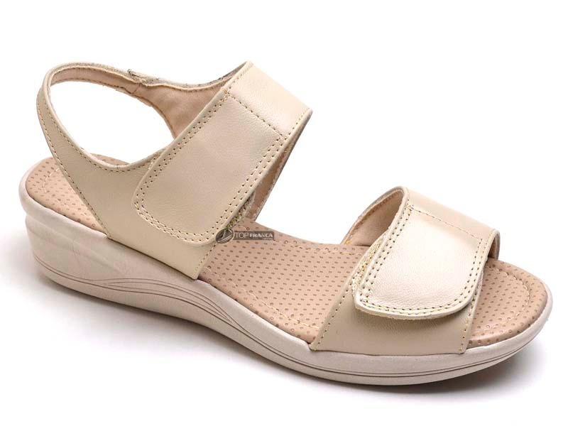 c87f1f058d sandália papete feminina couro diabéticos antistress couro. Carregando zoom.
