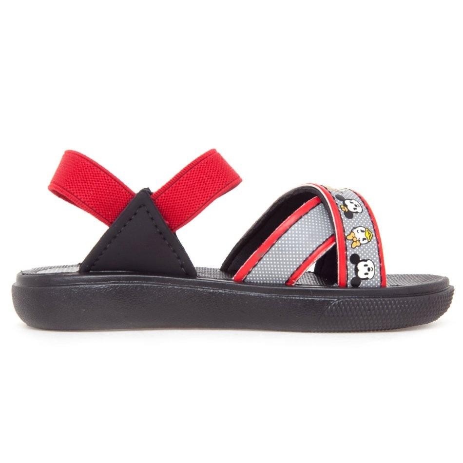 1253fdaa8 sandália papete infantil mickey preta - grendene kids. Carregando zoom.