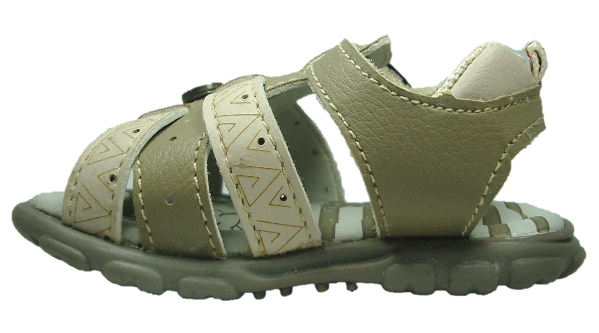 4f08226ed sandália papete masculina baby pé com pé rato bege - 14096. Carregando zoom.