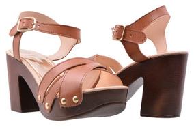9e137e3e Sandalias Tacon De Madera Sin Talon Zara Woman - Zapatos en Mercado ...