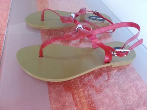 sandalia para damas talla 39