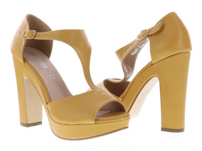 210b9693 Zapatos Amarillos De Tacon Alto - Zapatos de Mujer en Mercado Libre ...