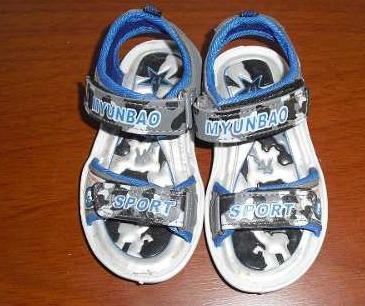 sandalia para niño