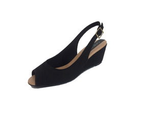 8a68b95e57 Sapato Salto Anabela Peep Toe - Sapatos no Mercado Livre Brasil