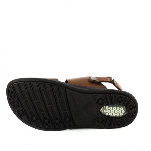 sandalia pegada 131262-02 masculino em couro - coutope