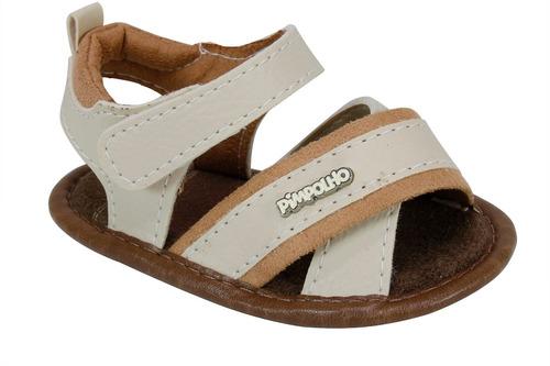 sandália pimpolho casual premium bege