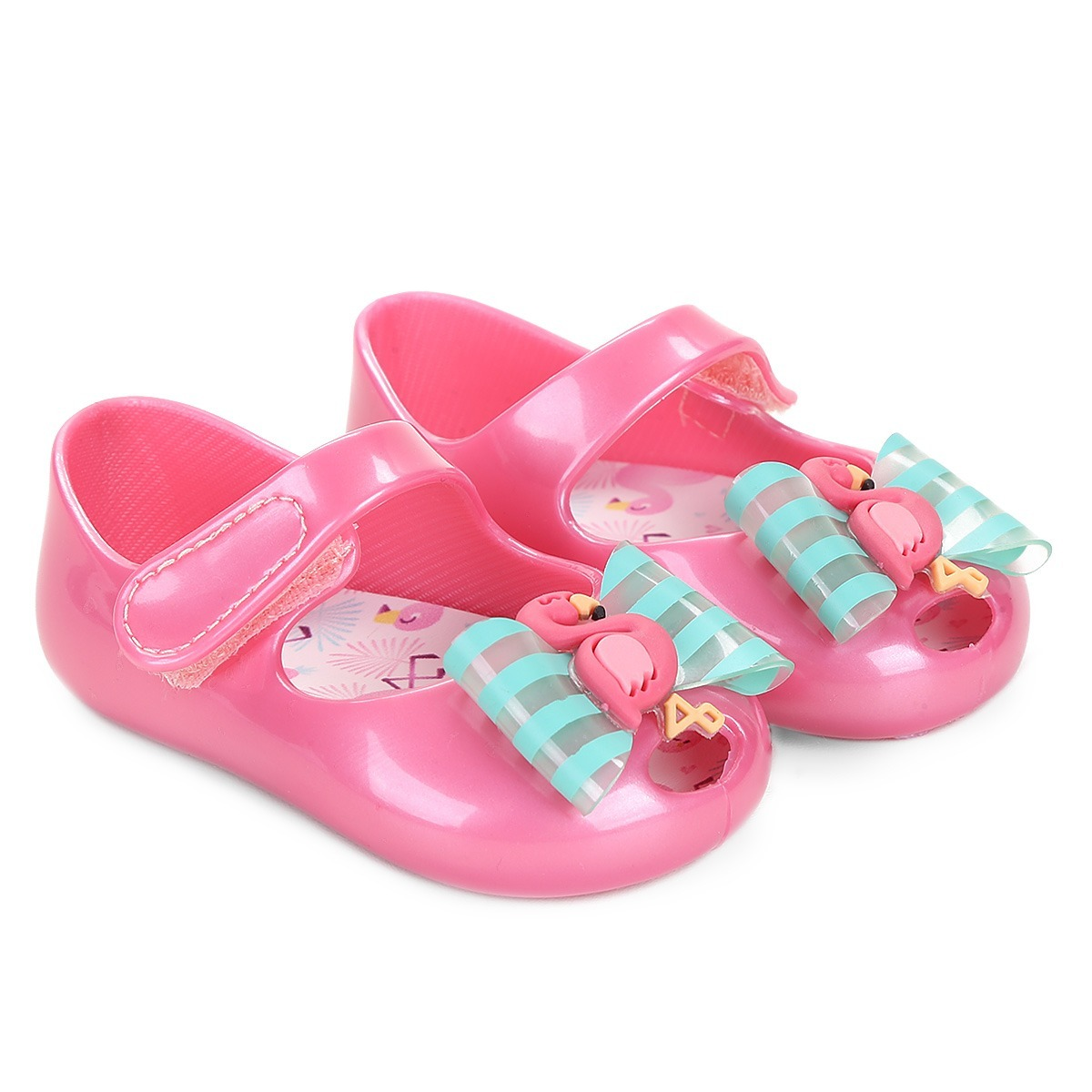 d8606882c sandália pimpolho colorê flamingo- tamanho 02 - meninas. Carregando zoom.
