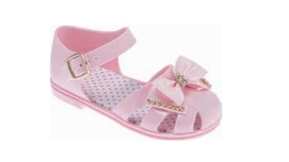 4c760fb93 sandália pimpolho colorê rosa laço frete gratis 005423. Carregando zoom.