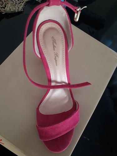 sandália pink matheus bonjiorno