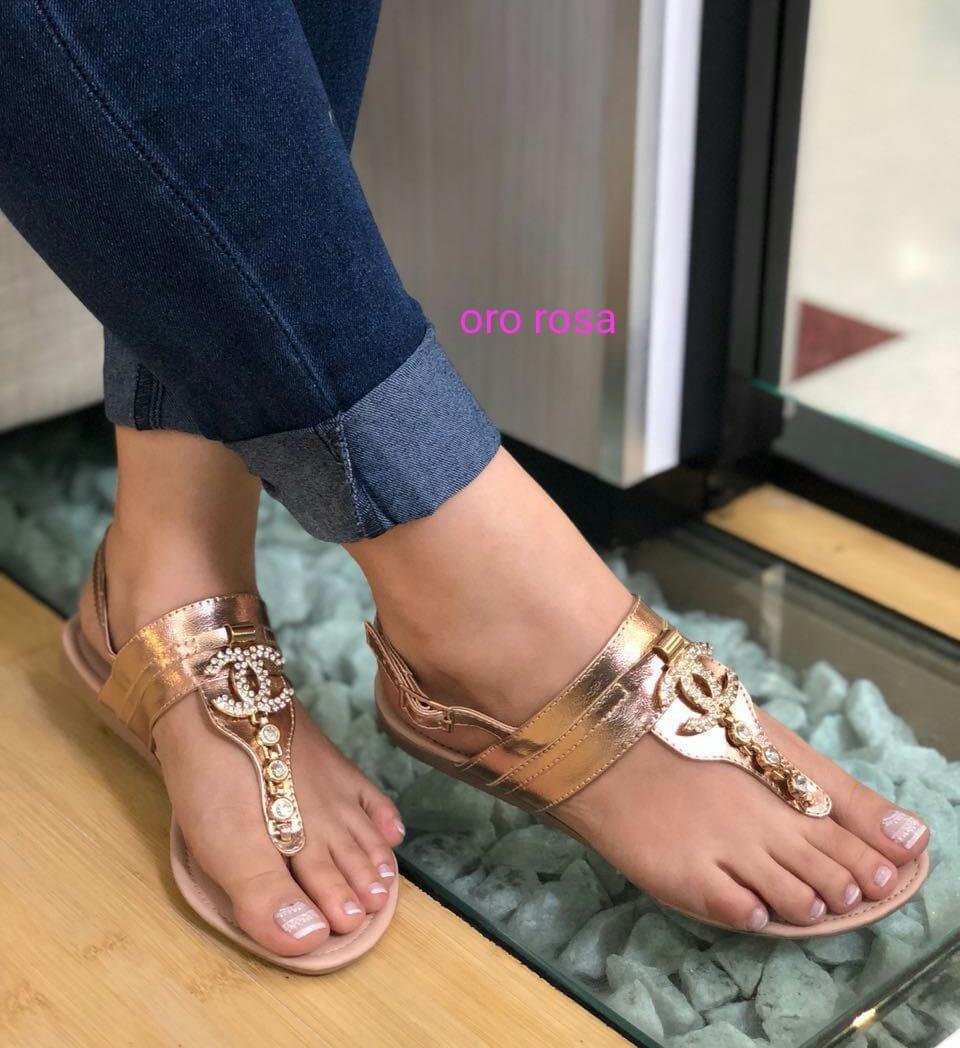 1a9efa46d7c sandalia plana dama calzado kadri46 moda colombiana. Cargando zoom.