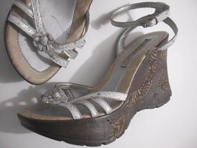 cee075114 Sandalias Anabela Tanara - Sapatos Branco no Mercado Livre Brasil