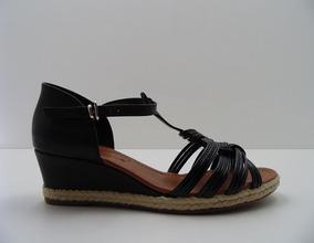 24c2b8ae2 Sandália Bebecê Anabela Baixa - Sapatos no Mercado Livre Brasil