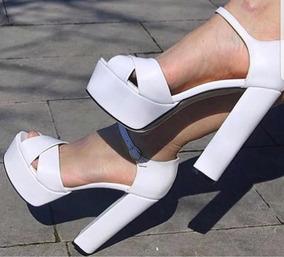 bc97342295 Sandalia Billie Shoes Plataforma - Sapatos para Feminino no Mercado ...