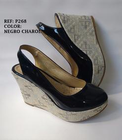 Negro Dama Sandalia Corcho Plataforma Mujer envio Zapato lKFJc1