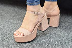 Moda Mujer Verano Sandalia Plataforma 340 Art 2019 Cuero UMGSzpLqV