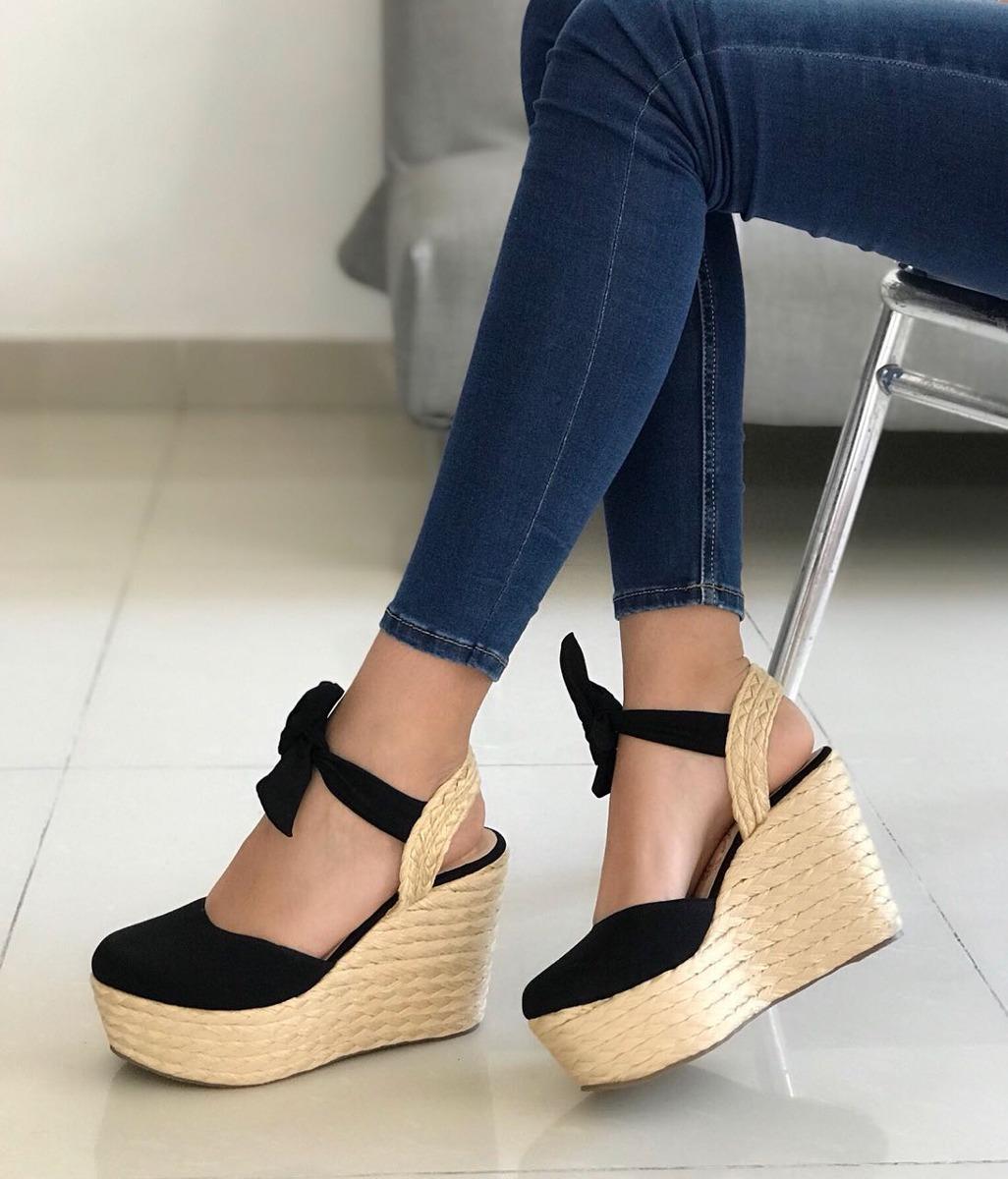 ef17ec1e0fc sandalia plataforma dama calzado cerrado moda colombiano. Cargando zoom.