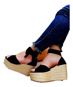 82218d10 Sandalia Plataforma Juvenil - Sandalias para Mujer en Mercado Libre Colombia