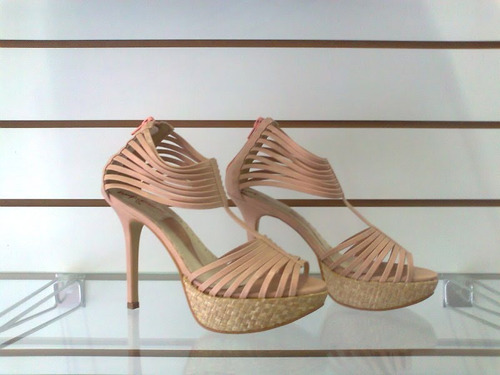 sandália plataforma fc nude  - promoção!!!!!!!!!!!