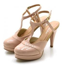 92487ddc7 Salto Alto Tamanho 34 - Sapatos com o Melhores Preços no Mercado ...