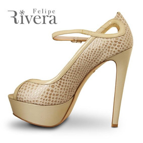 Rivera5 Formal Tacon Felipe Fiest Sandalia Boda Plataforma CedExQrBWo