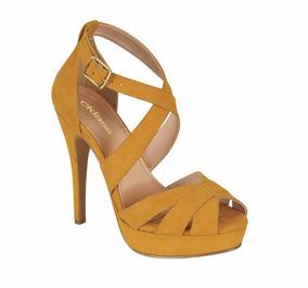 Zapatos Plataforma Y Tacon Seguido Con Sandalias Perla Color XNZk8n0OwP