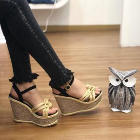 3b4e1a6d24 Sandalia Plataforma Yute Calzado Dama Moda Colombiana