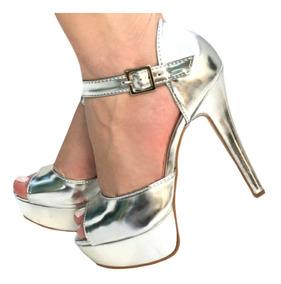 68dada1a7 34 Scarpin Prata Tamanho 33 - Sapatos com o Melhores Preços no Mercado  Livre Brasil