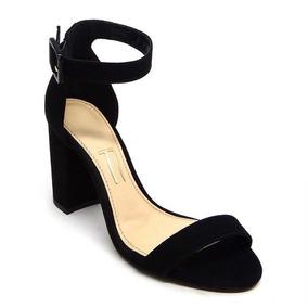 0f93cc65f6 Sandalia Salto Fino Com Tirinhas Na Frente - Sapatos no Mercado Livre Brasil