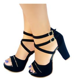 eaaabb527 Sapatos Femininos Salto Alto - Sapatos com o Melhores Preços no Mercado  Livre Brasil