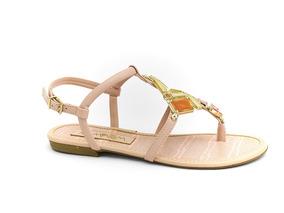 9359f50f7 Sandalia Ramarim Amendoa - Sapatos com o Melhores Preços no Mercado ...