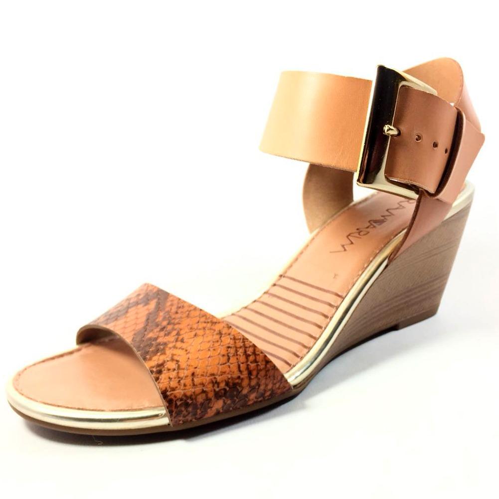 d47305cfad sandália ramarim anabela feminina - caramelo. Carregando zoom.