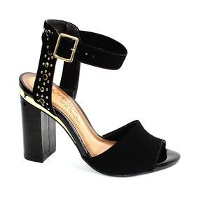 6edc1b4d9 Ramarim Sapato Salto Carneiro Soft Sandalias - Sapatos no Mercado ...