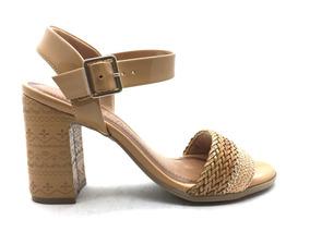 428501234 Sandálias e Chinelos Femininas Sandálias Ramarim Marrom-claro com o  Melhores Preços no Mercado Livre Brasil