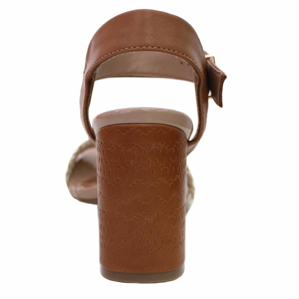 a4b71ecc0c sandália ramarim total confort marron. Carregando zoom.